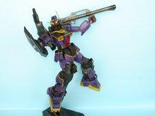 Réalisation d'une maquette Gundam de A à Z : HGUC Gundam MkII TTT ver. - 5ème partie : effets, décals et  vieillissement