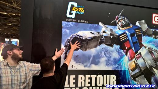 La fresque géante du RX-78