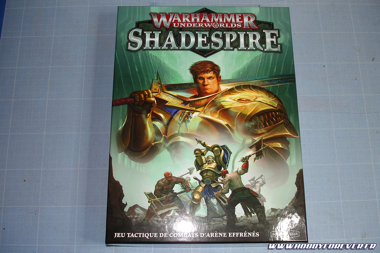 La très belle boite de Warhammer Underworlds Shadespire