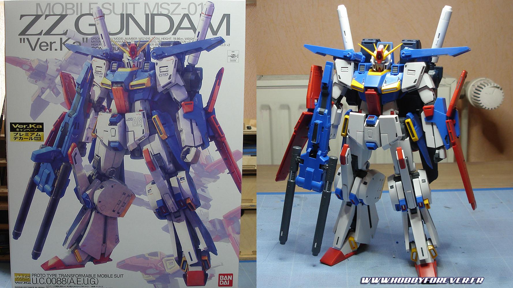 Montage - MG MSZ-010 ZZ Gundam Ver.Ka