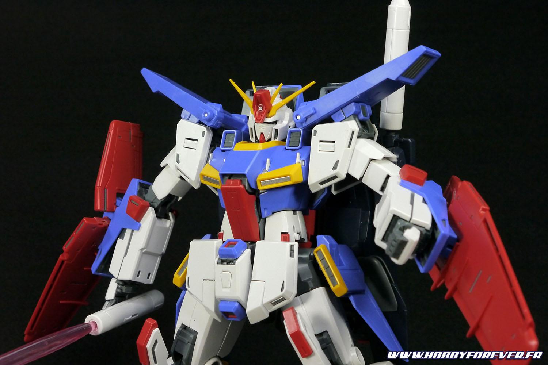 Le haut du ZZ Gundam ver.Ka manque quand même un peu de détails