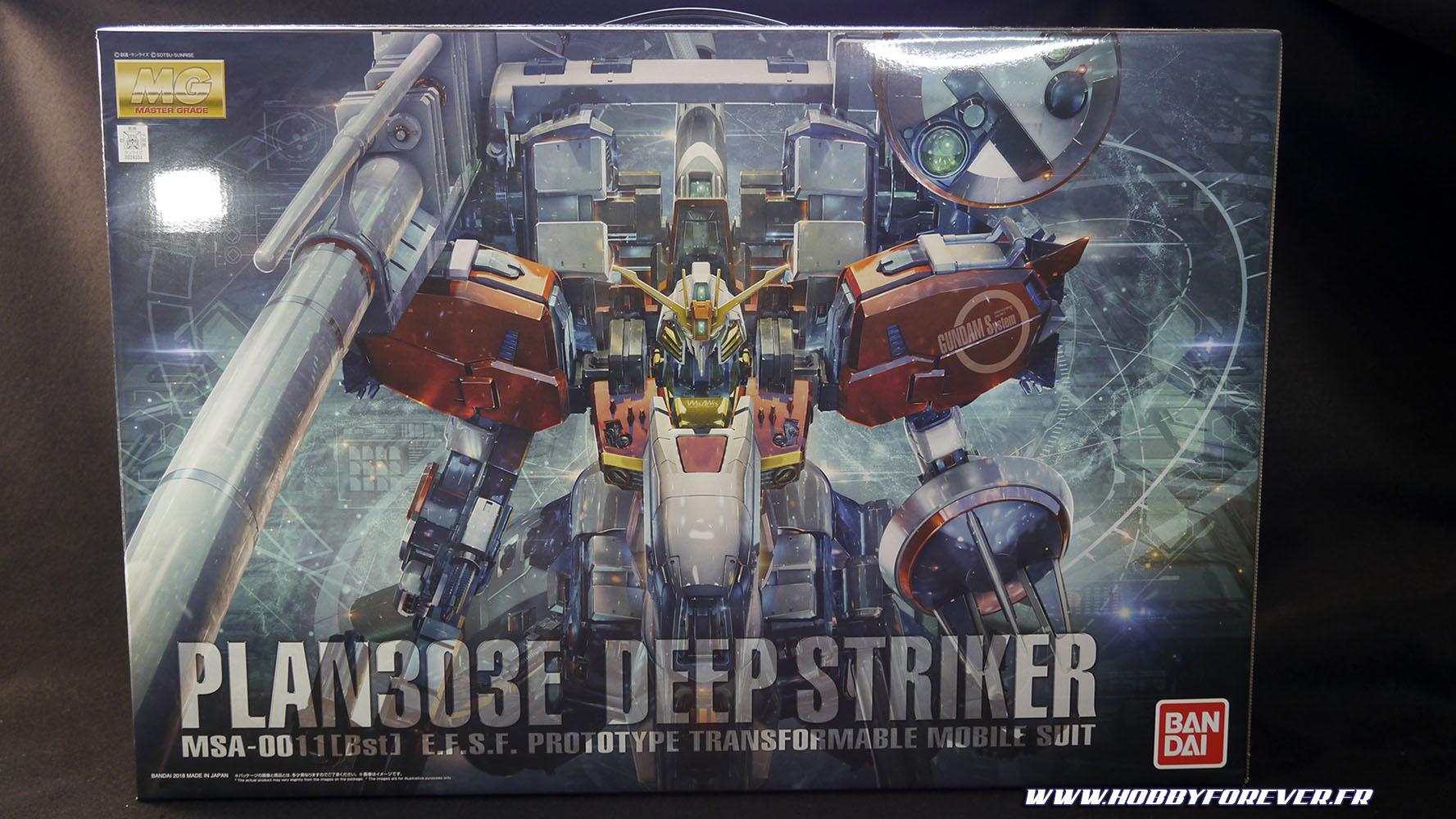La boite peut se vanter d'arborer une superbe illustration en CGI du Deep Striker