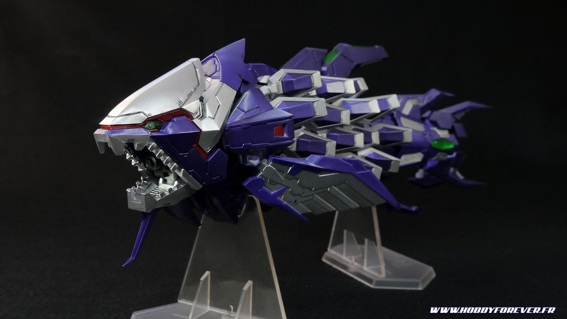 Review - Figma SP-093b Knight Fossil  / DARIUSBURST Chronicle Saviours