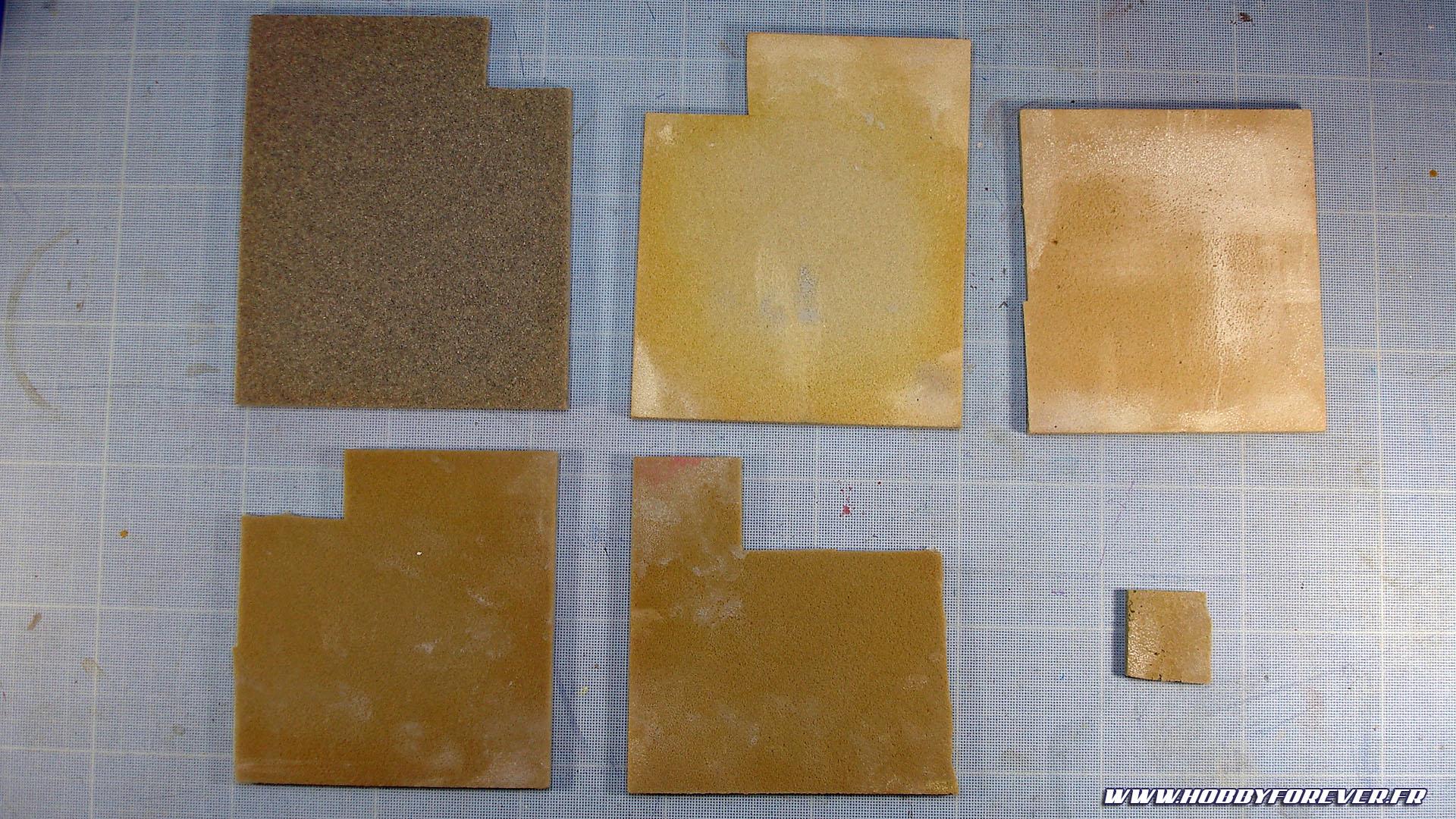 Eponges abrasives Kotobukiya de différents grammages