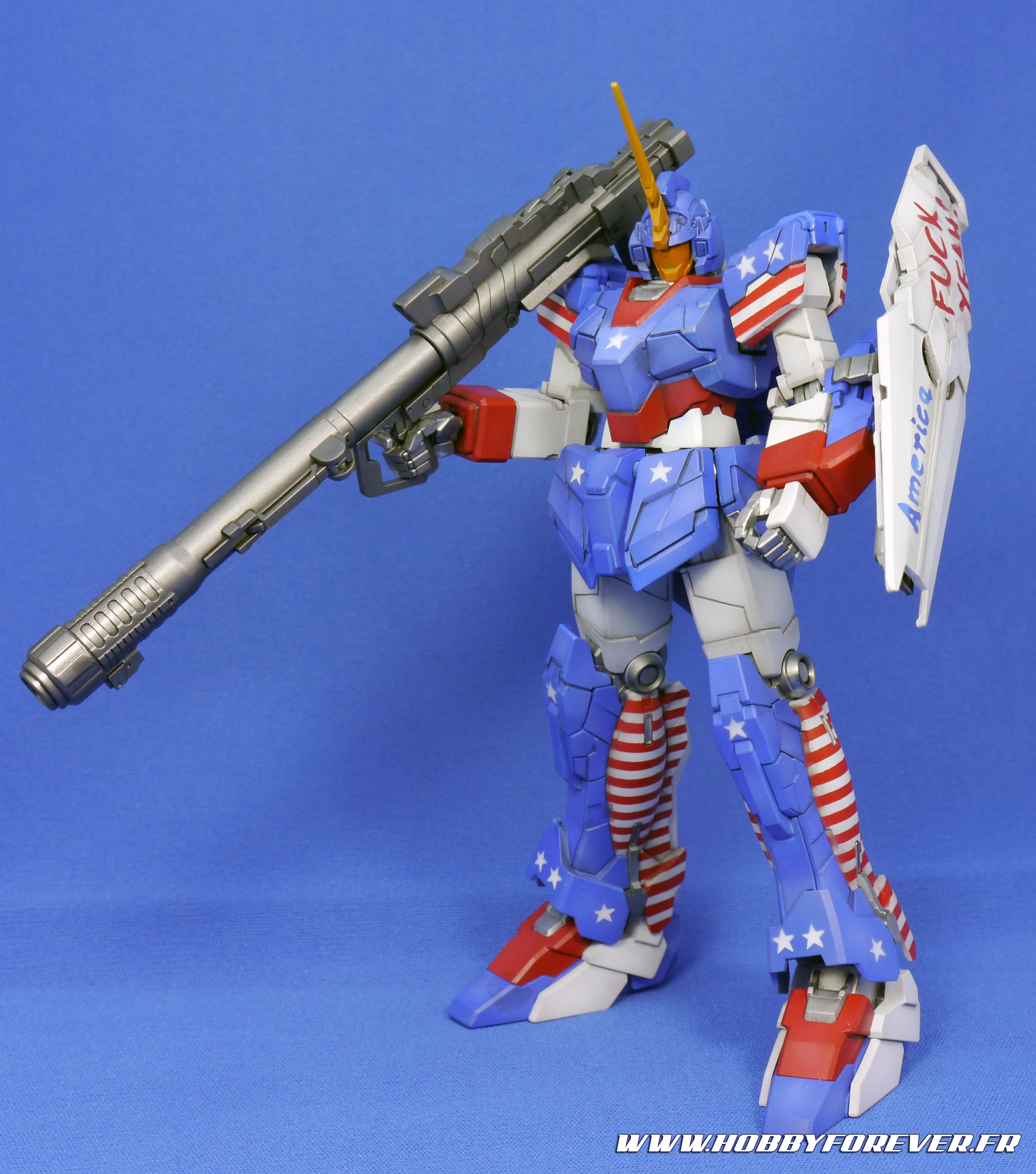 "Mon Muricorn Gundam, un exemple de ""customized paint job"""