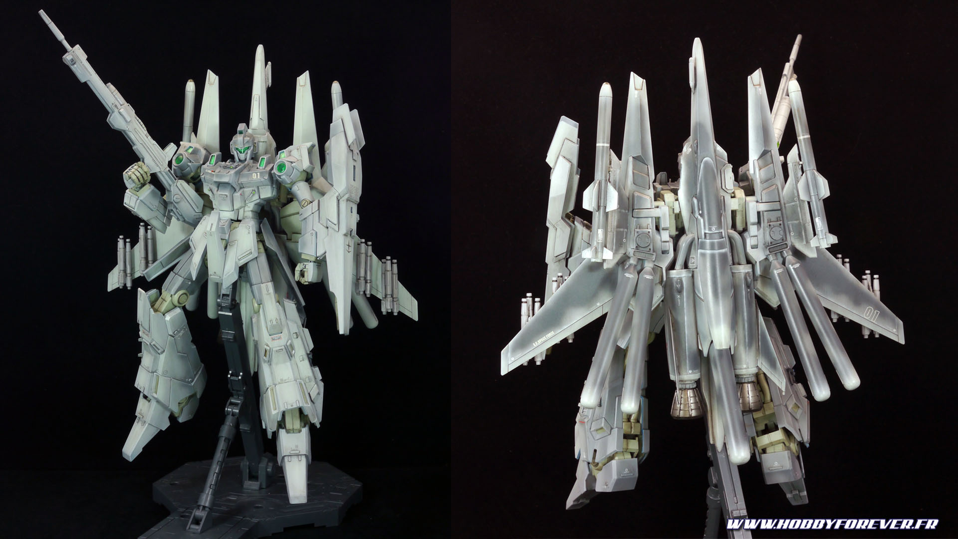 Mon RGZ-95AI ReZEL 'Atmospheric Interceptor', un MG ReZEL commander type custom