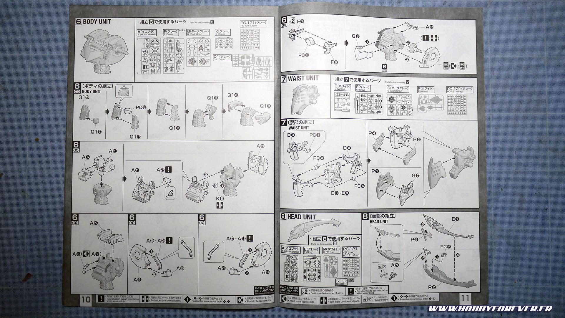 Unboxing - MG AMX-004DMD Qubeley Damned P-Bandai