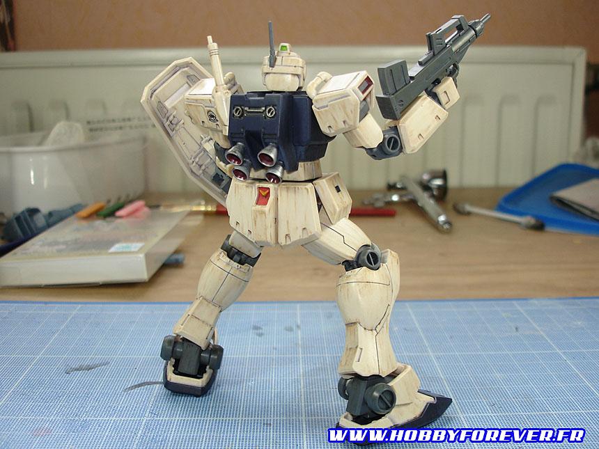 """Tutoriel """"No Paint"""" 4 - 3e partie : Weathering au Gundam Marker et peinture"""