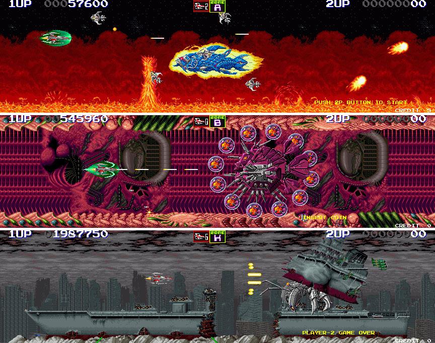 Darius II (arcade, 1989)