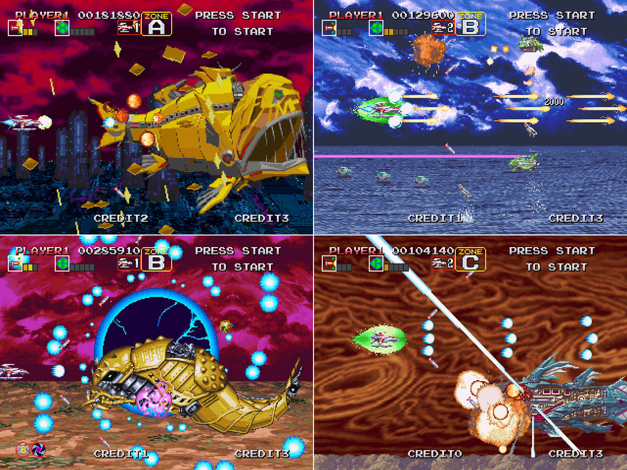 Darius Gaiden - Silver Hawk (arcade,1994)