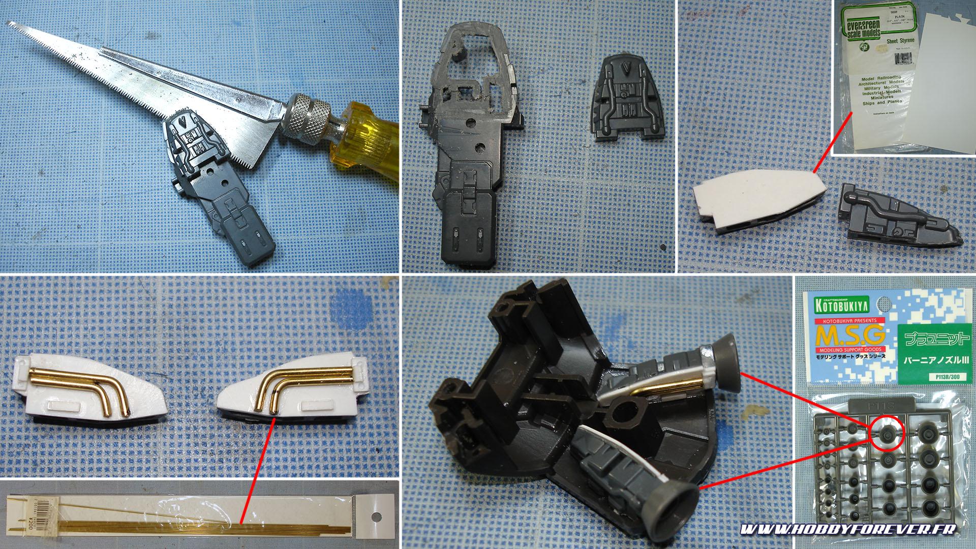 Les dfférentes étapes de la création des blocs moteur.