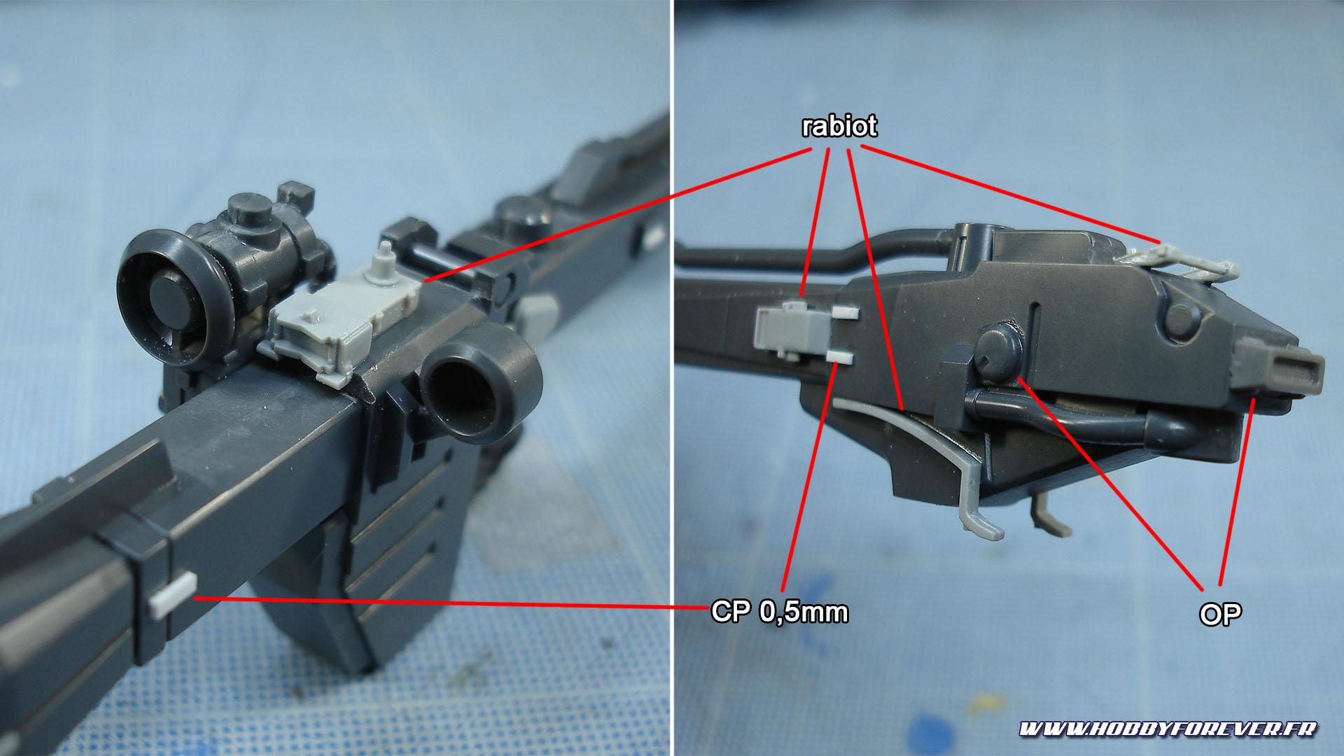 WIP - HG YMS-08B Dom Test Type - Détailler un Gunpla, 3e partie