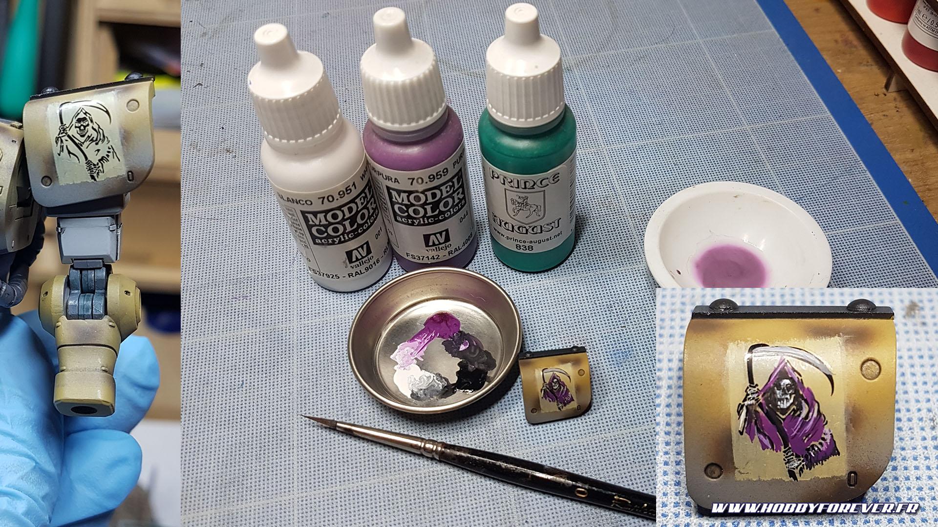 Peinture de la faucheuse