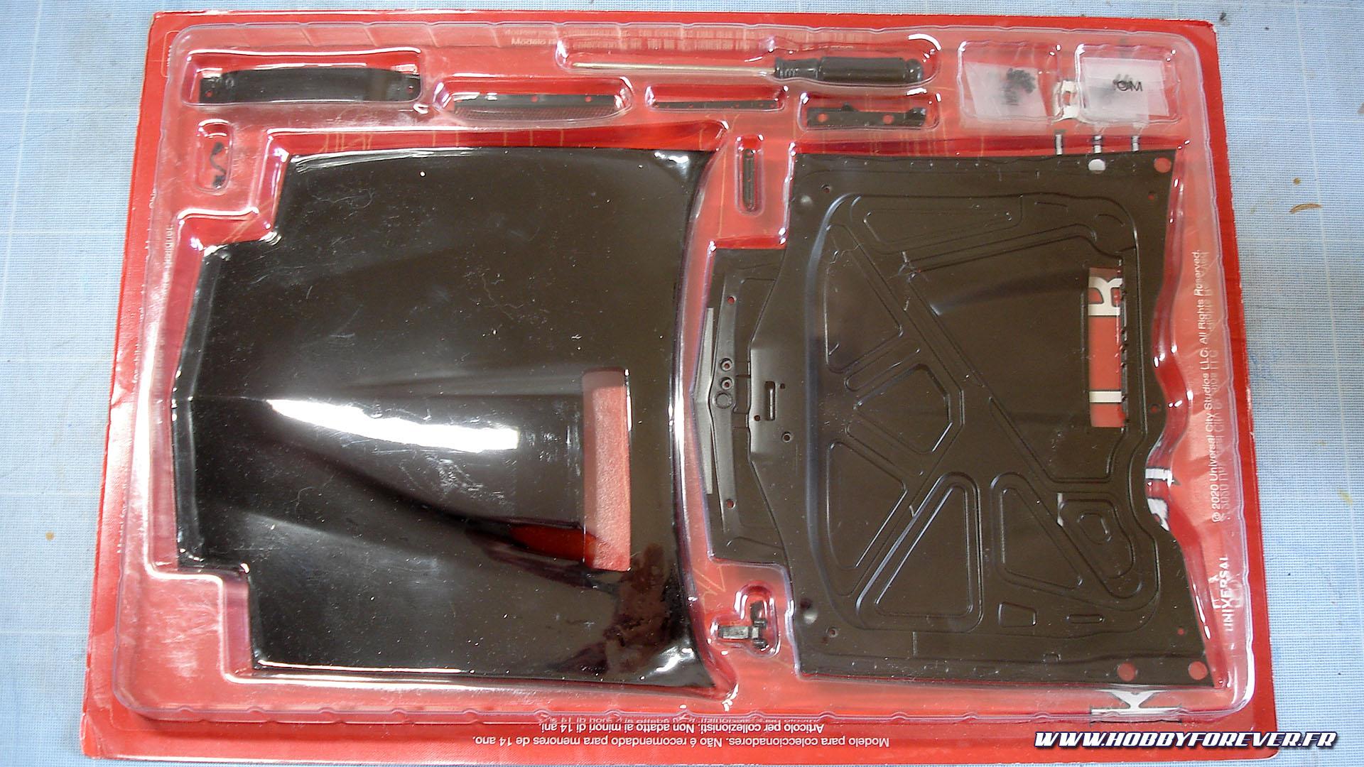 Découverte des fascicules 1 à 5 de KITT, la voiture de K2000, au 1/8 par Altaya