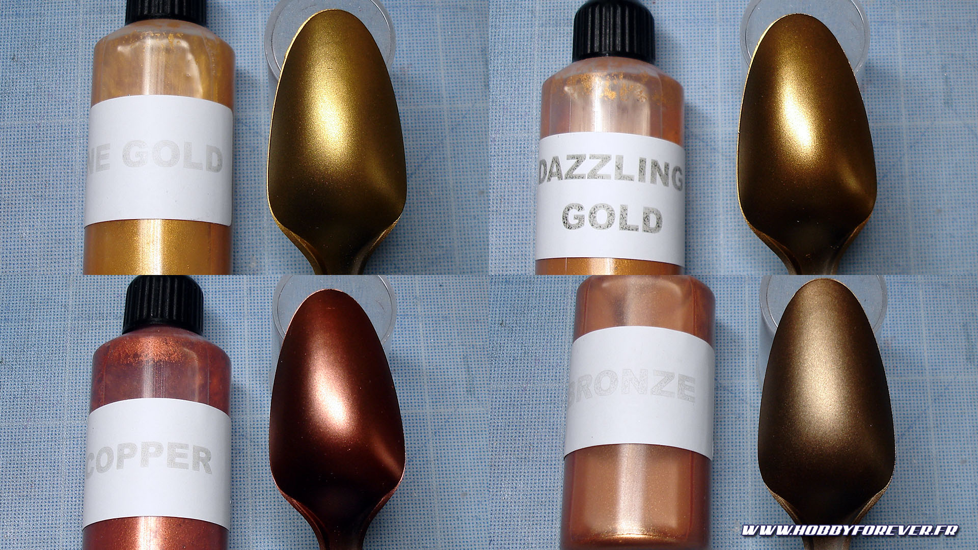 Fine Gold / Dazzling Gold / Copper / Bronze