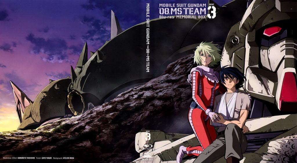 Les Gunpla de l'UC, Part.3 - UC0079 - MS Gundam The 8th MS Team