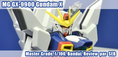 MG GX-9900 Gundam X - Review