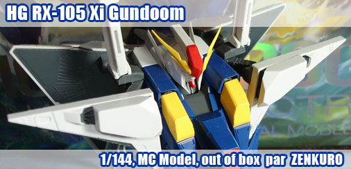 HG RX-105 Xi Gundoom - Out of Box
