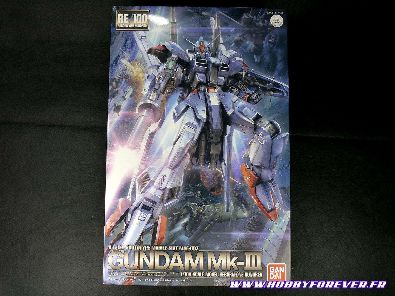 Boxart du RE/100 Gundam Mk-III