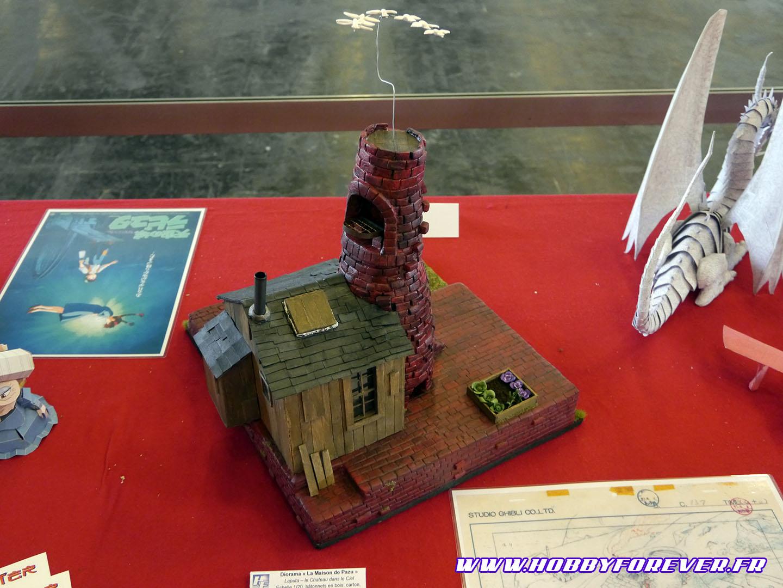 La maison de Pazu, par Orchidia