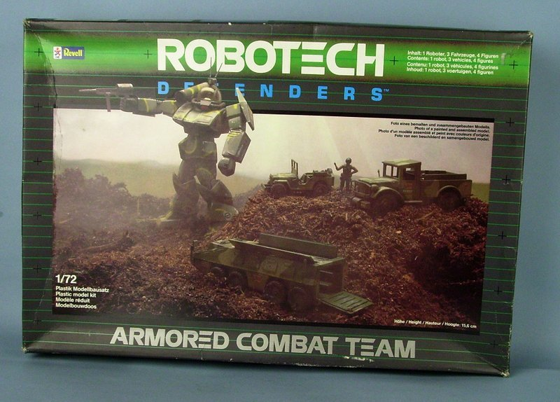 Robotech Defender Armored Combat team - Heller