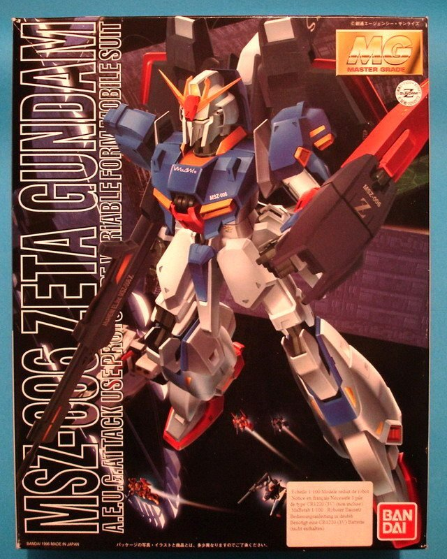 MG Zeta Gundam - Bandai
