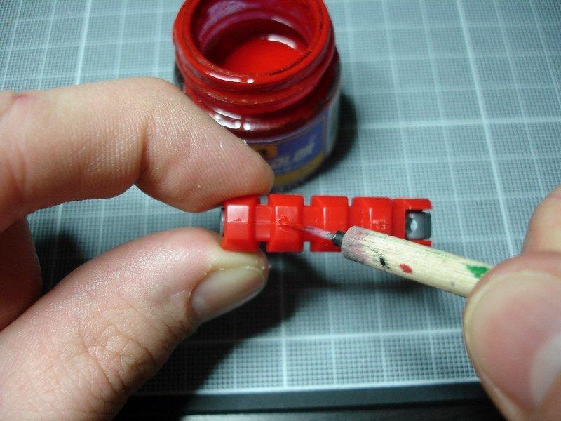 """Tutoriel """"No Paint"""" 1 - Améliorer facilement une maquette Gundam sortie de boite"""