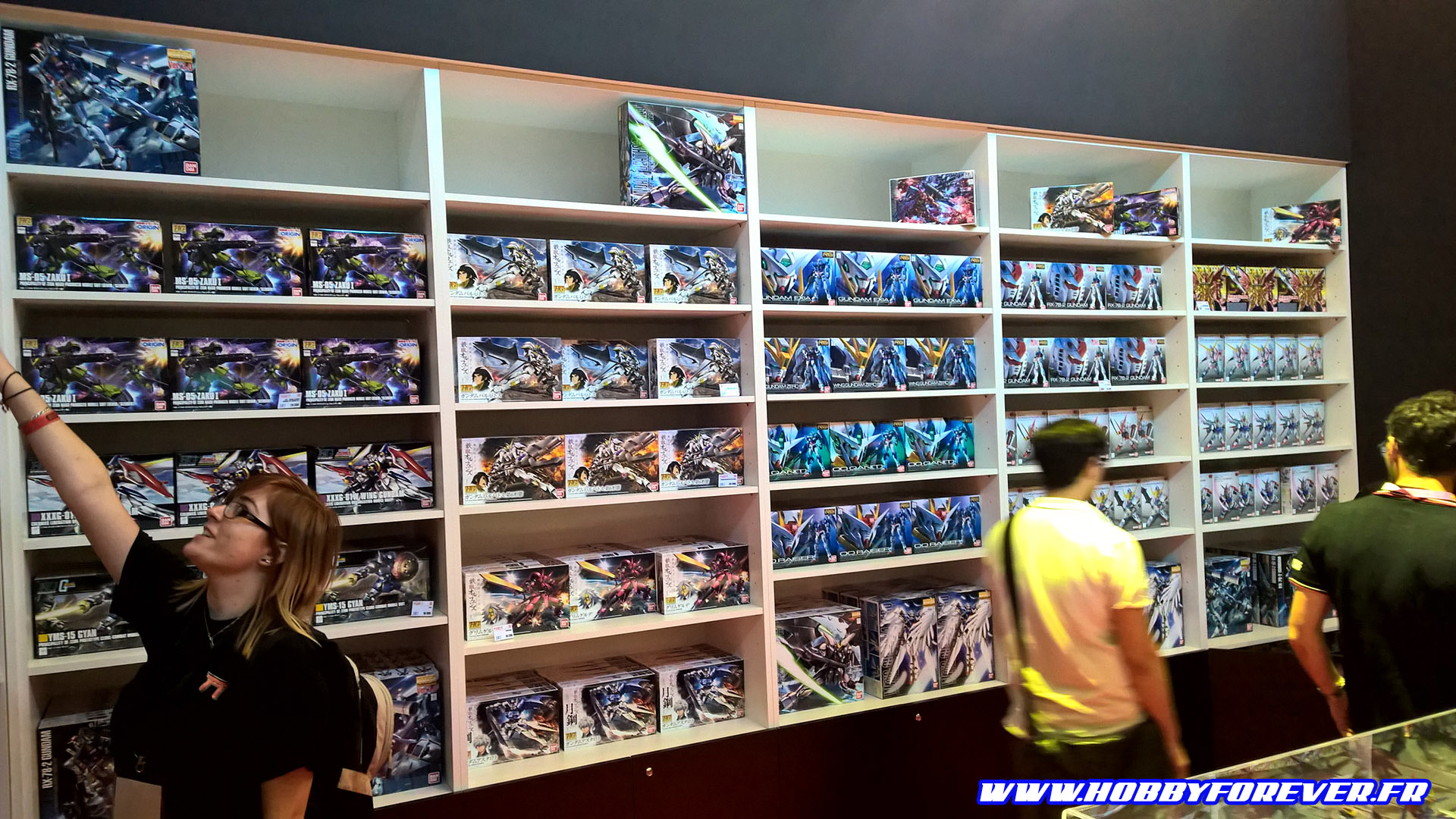 Le point sur le retour du Gunpla en France après la Japan Expo 2016