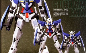 La classification des Gunpla par grades