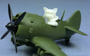 Review - Nakajima Ki-84 Fighter and Pilot - Cute Model par Tiger Model