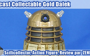 Diecast Collectable Gold Dalek - Review