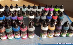 Les peintures acrylique-polyuréthane Stardust Pro