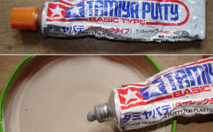 Sauver un tube de putty sec