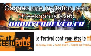 Concours : gagnez une place pour Geekopolis