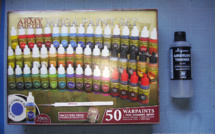 Arrivage - Army  Painter Mega Paint Set & Vallejo Airbrush Thinner