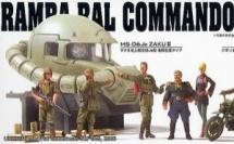 Les Gunpla de l'UC, Part.2 - UC0079 - MS Gundam / La Principauté de Zeon